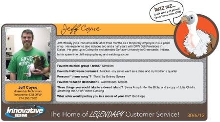 Jeff Coyne Bio