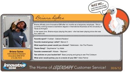 Buzz Welcomes Briana Dykes to Innovative-IDM!