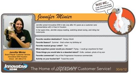 Buzz Welcomes Jennifer Minier to Innovative-IDM