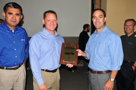 Omron Recognizes Innovative-IDM for Ten Years of Service