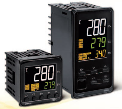 Omron E5CC and E5EC Series Temperature Controllers