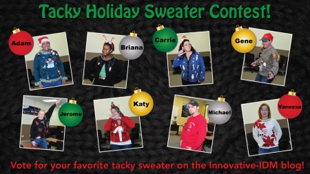Innovative-IDM Tacky Holiday Sweater Contest