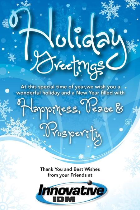 Happy Holidays from Innovative-IDM