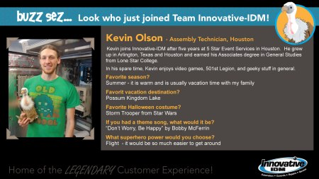 Kevin Olson joins Innovative-IDM
