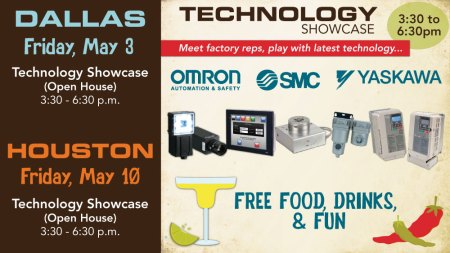 Open House Tech Showcase in DFW and Houston