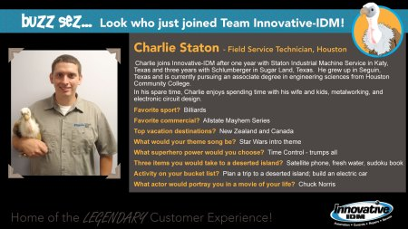 Charlie Staton joins Innovative-IDM