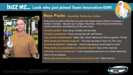Ross Poste joins Innovative-IDM