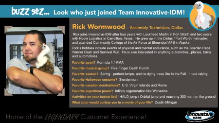 Rick Wormwood joins Innovative-IDM