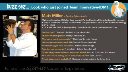 Matt Miller joins Innovative-IDM