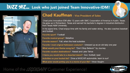 Chad Kauffman joins Innovative-IDM