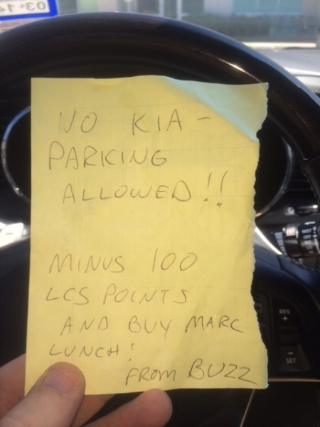 Parking Ticket?!?!?