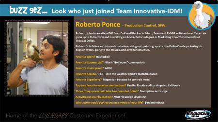 Roberto Ponce joins Innovative-IDM