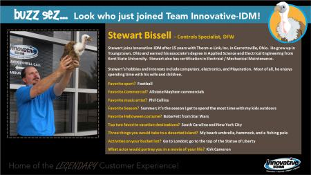 Stewart Bissell joins Innovative-IDM