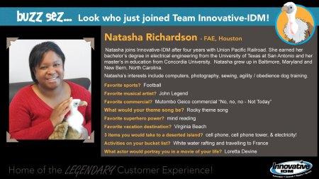 Buzz Welcomes Natasha Richardson to Innovative-IDM