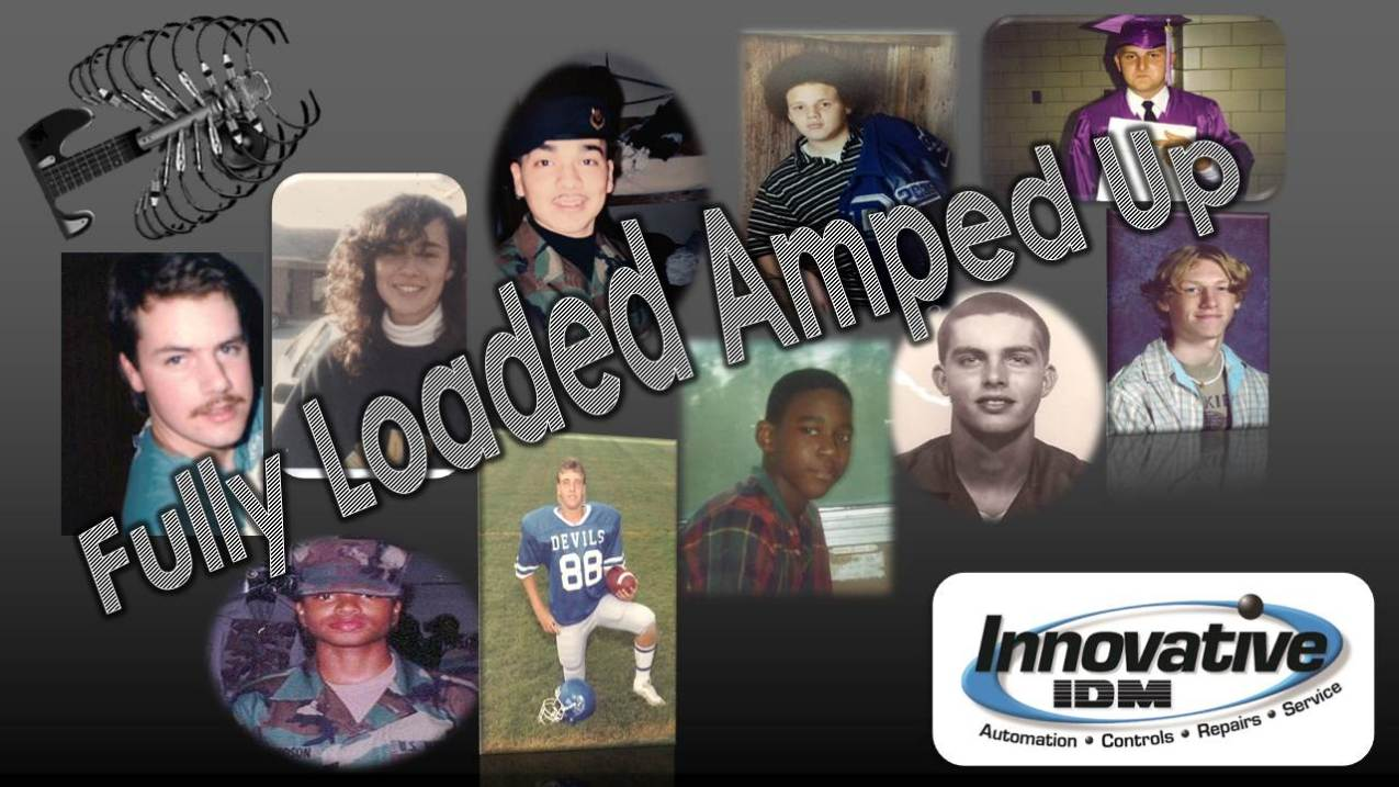 We are FULLY LOADED AMPED UP!!!
