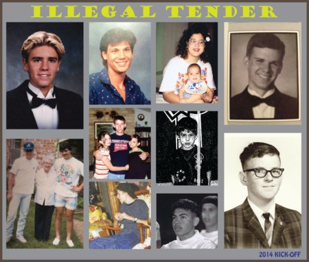 Illegal Tender - The inspiration for many iconic figures