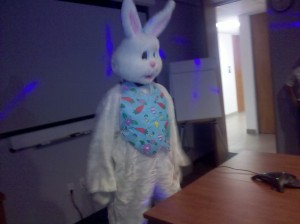 The EASTER BUNNY is real!