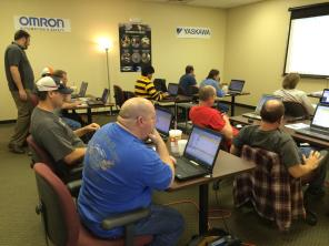 OMRON PLC Training at Innovative-IDM Tulsa, April 22, 2014