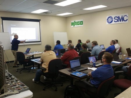Team Tulsa hosts their first SMC Pneumatics training class