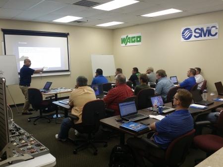 Team Tulsa hosts their first SMC Pneumatics training class