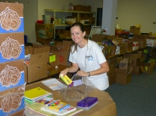 Innovative-IDM volunteers at Metrocrest Services