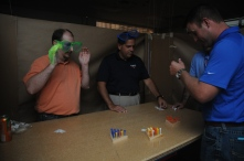 Newbies meet Engineering and Contract Manufacturing at the Crazy Maze