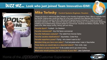 Mike Terlesky joins Innnovative-IDM Houston
