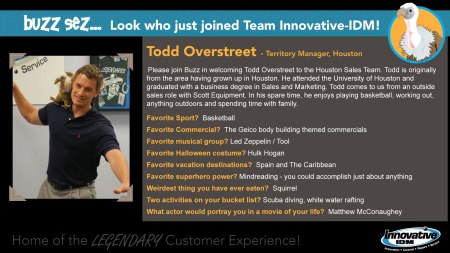 Todd Overstreet joins Innovative-IDM