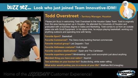 Todd Overstreet joins Innovative-IDM