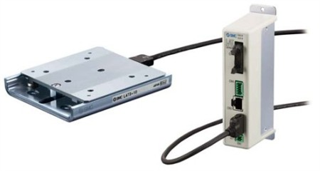 SMC Ultra-Compact Electric Linear Guide Actuator