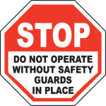 Safety Label reduces liability risk