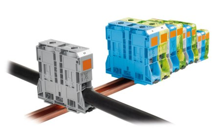 WAGO high current terminal blocks